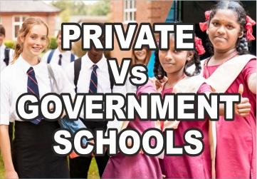 private vs government schools